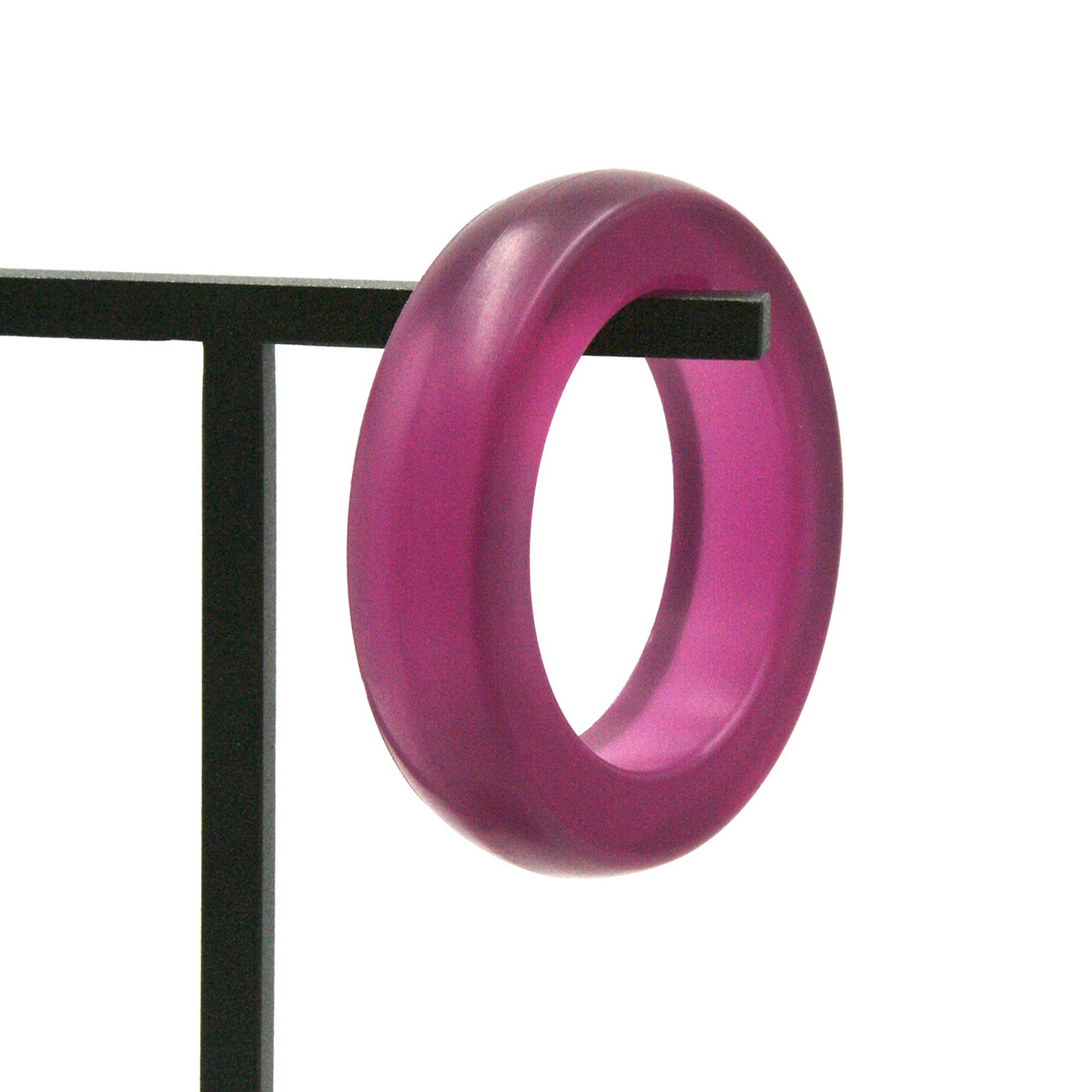 Red wine jelly bracelet by Ellesanti