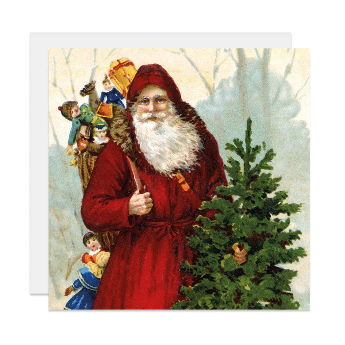 Father Christmas Christmas card pack
