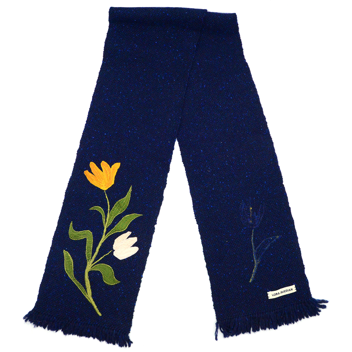 May Morris embroidered scarf