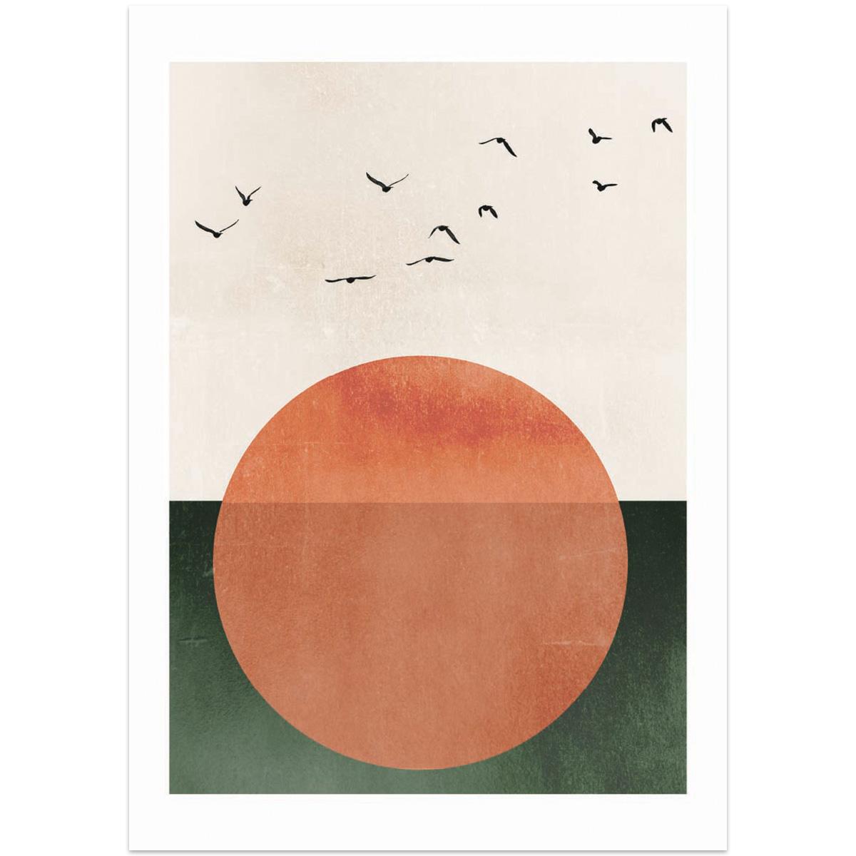 Sun Rising print