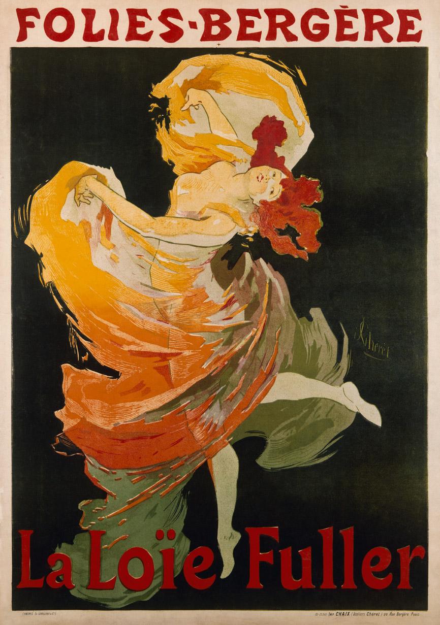Folies Bergere Le Loie Fuller Custom Print
