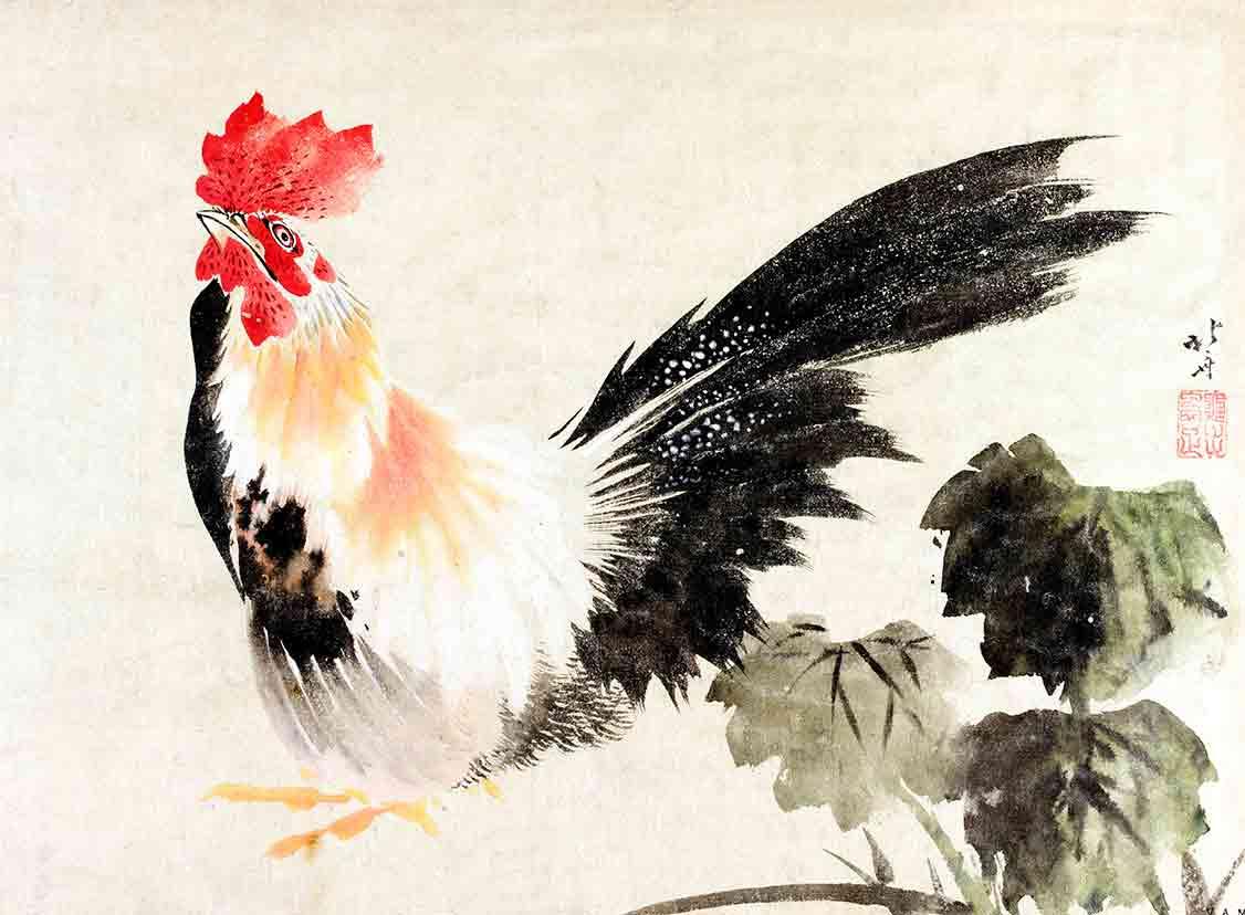 Rooster (custom print)