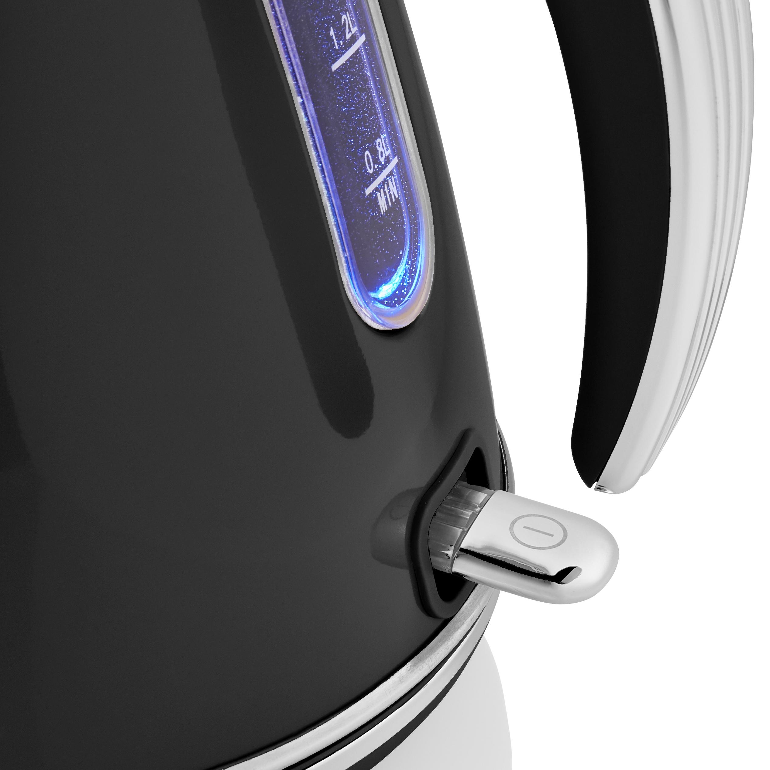 thumbnail 5 - Swan Retro 1.5L Jug Kettle 3KW, 2 Slice Toaster 815W & 20L Digital Microwave Set