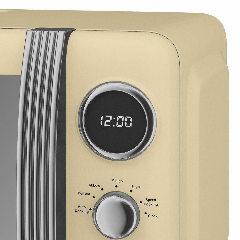 thumbnail 36 - Swan Retro 1.5L Jug Kettle 3KW, 2 Slice Toaster 815W & 20L Digital Microwave Set
