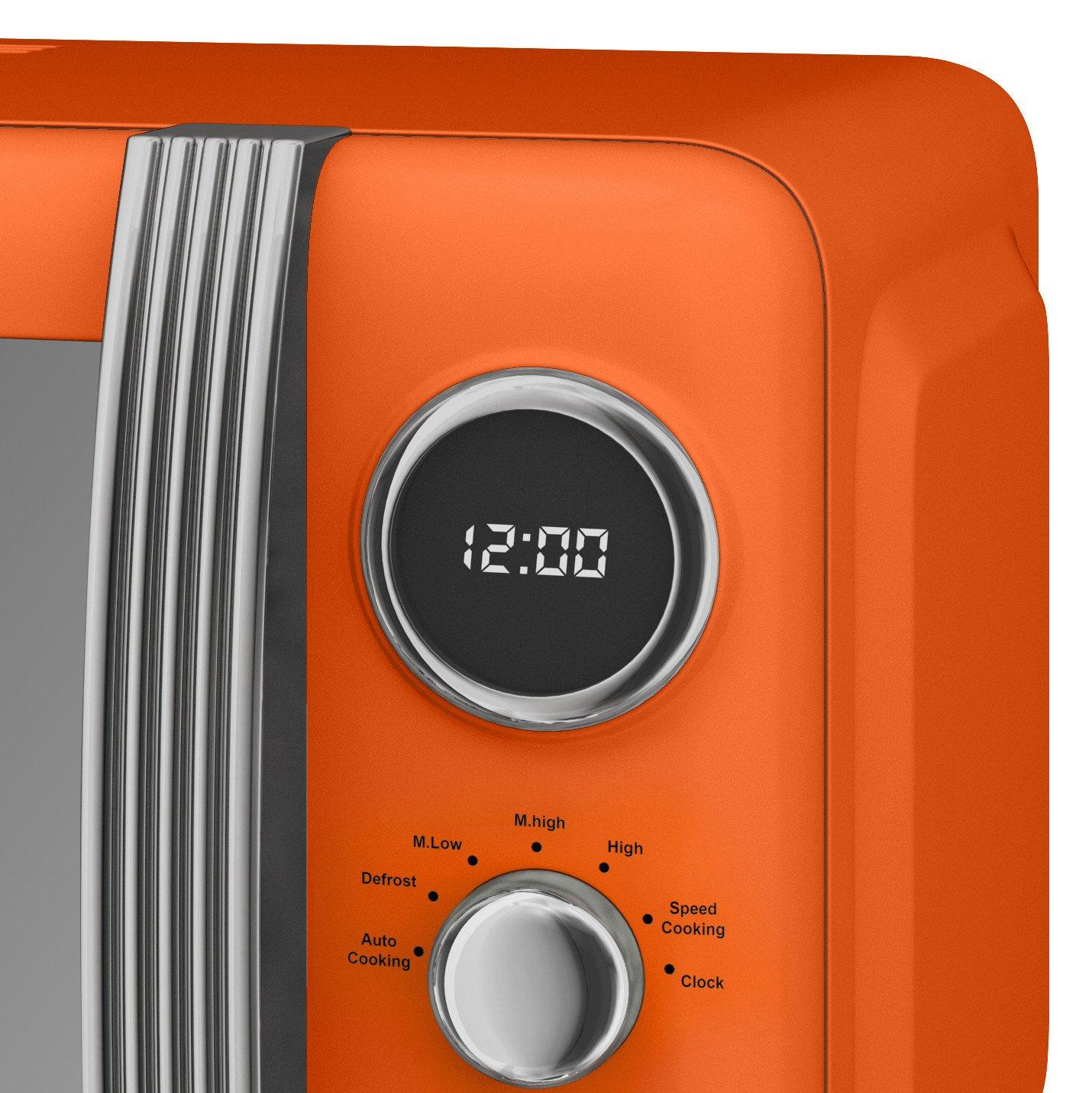 thumbnail 71 - Swan Retro 1.5L Jug Kettle 3KW, 2 Slice Toaster 815W & 20L Digital Microwave Set