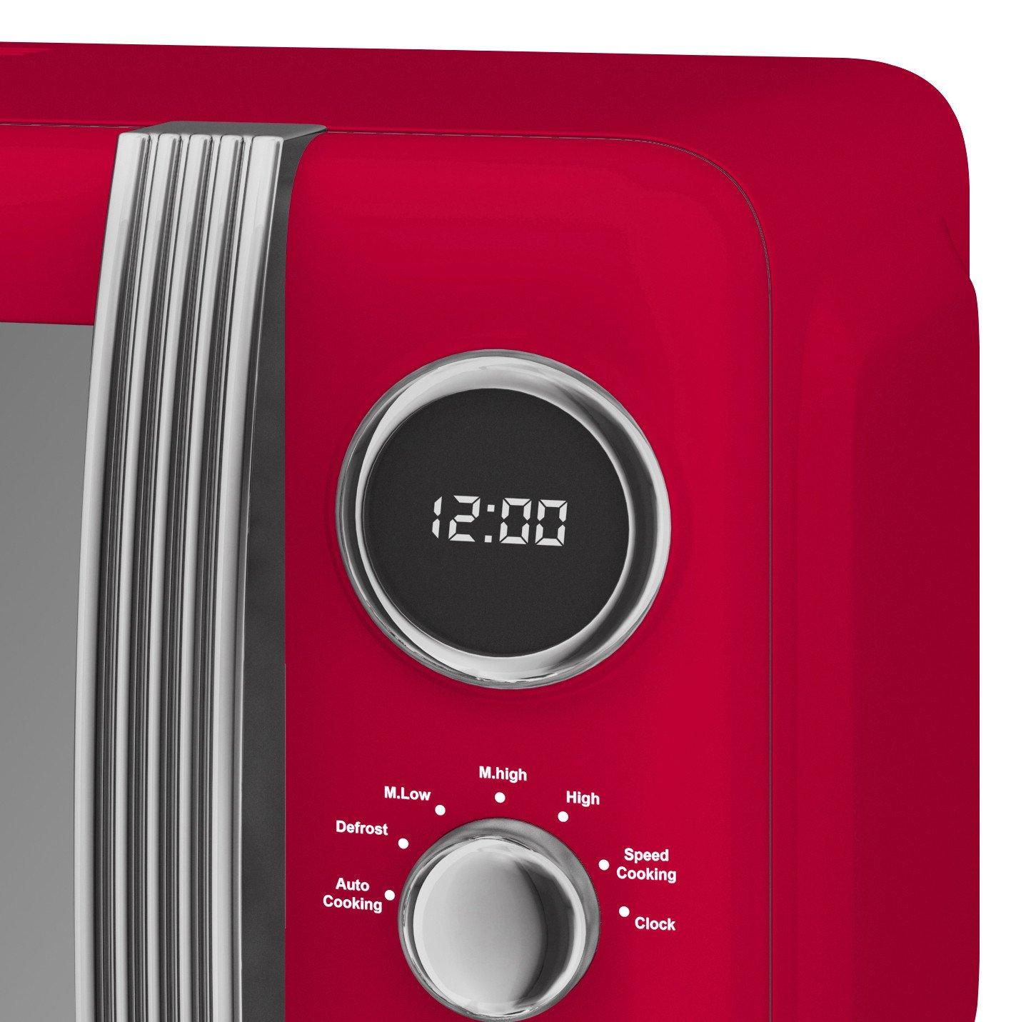 thumbnail 108 - Swan Retro 1.5L Jug Kettle 3KW, 2 Slice Toaster 815W & 20L Digital Microwave Set