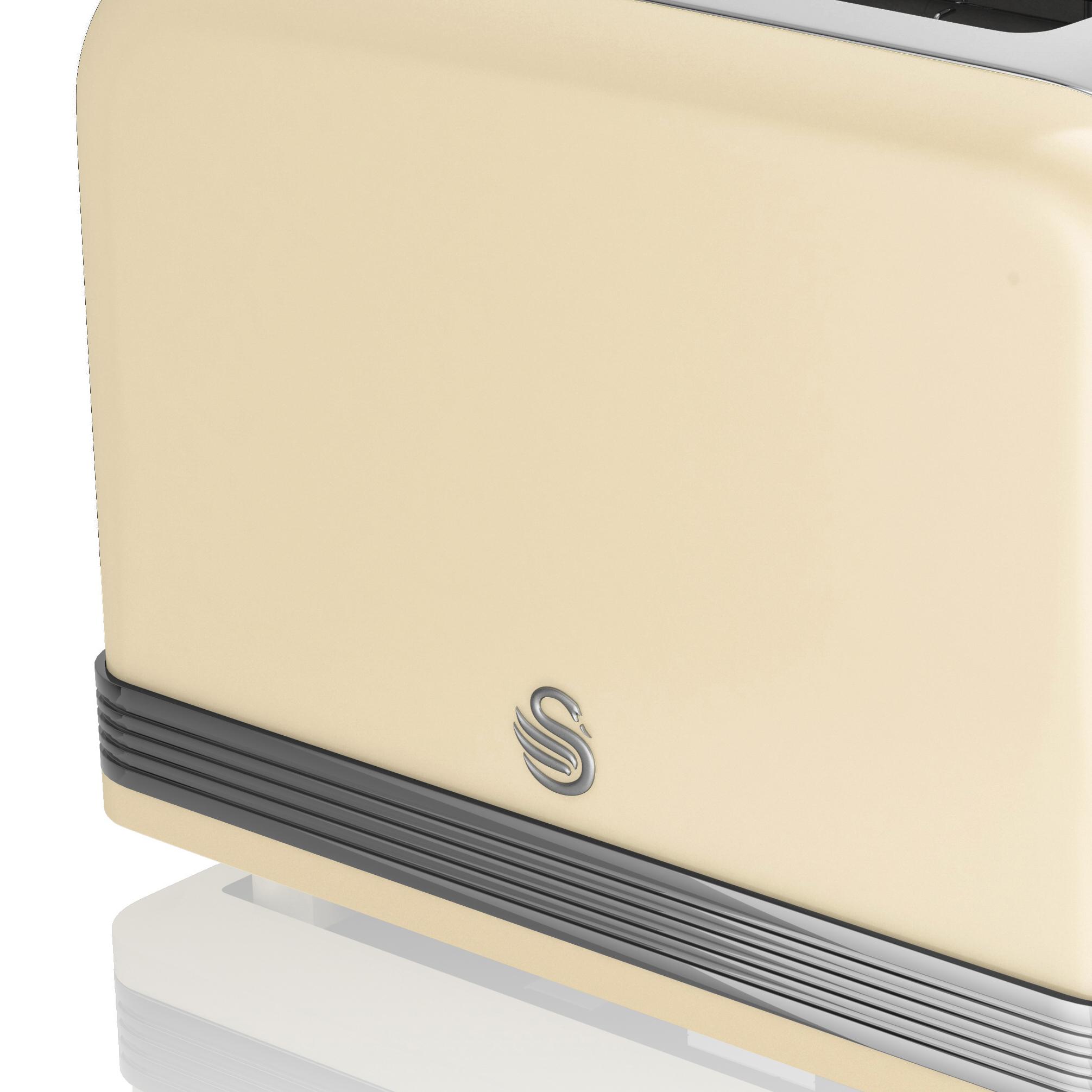 thumbnail 34 - Swan Retro 1.5L Jug Kettle 3KW, 2 Slice Toaster 815W & 20L Digital Microwave Set