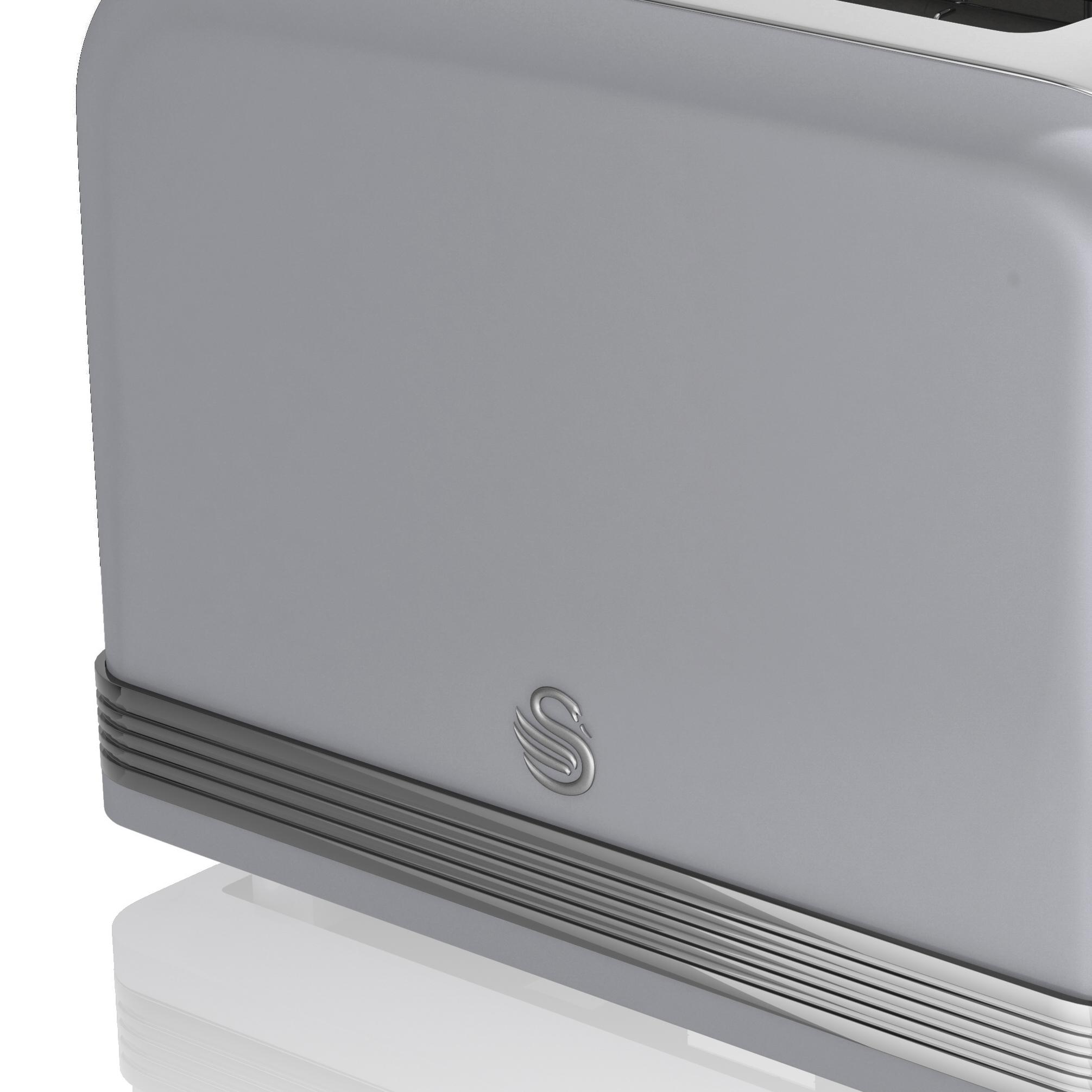 thumbnail 57 - Swan Retro 1.5L Jug Kettle 3KW, 2 Slice Toaster 815W & 20L Digital Microwave Set