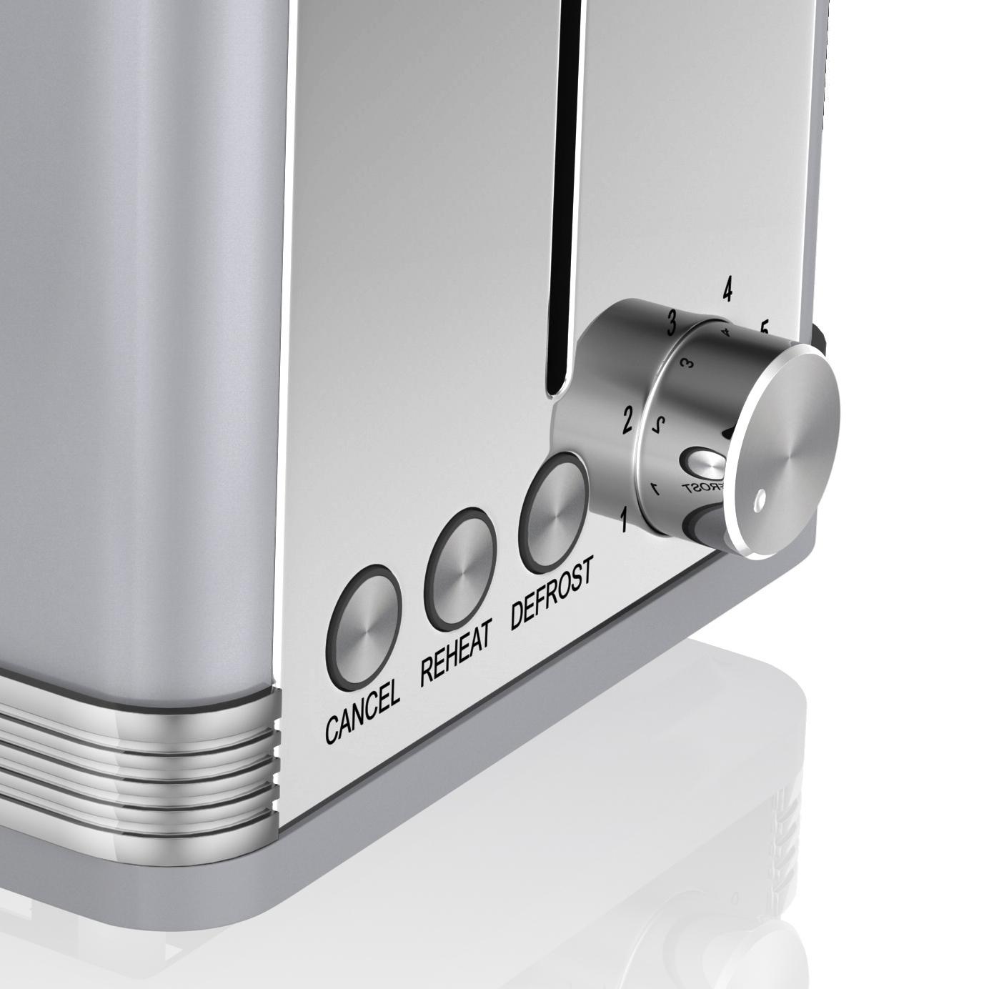 thumbnail 56 - Swan Retro 1.5L Jug Kettle 3KW, 2 Slice Toaster 815W & 20L Digital Microwave Set