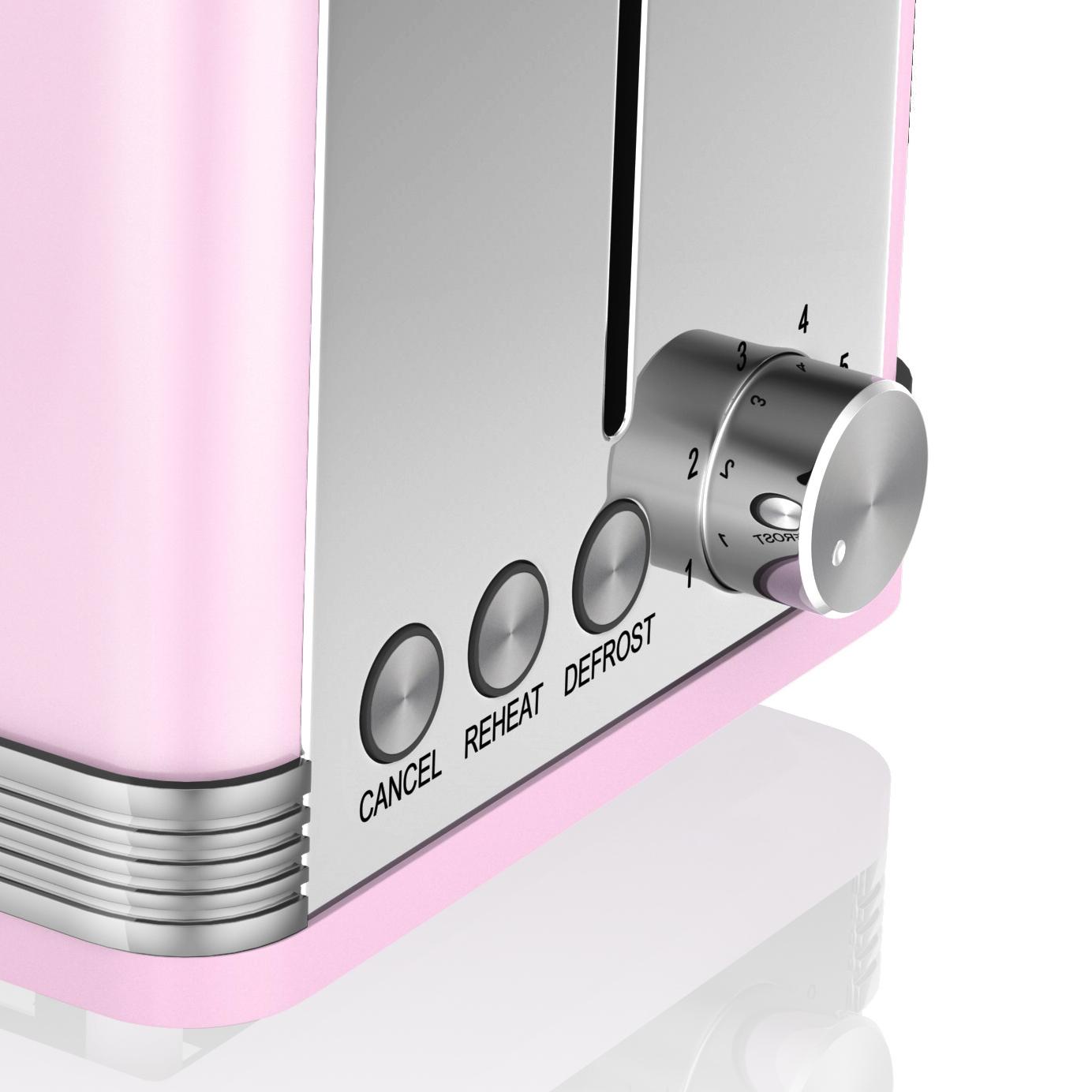 thumbnail 79 - Swan Retro 1.5L Jug Kettle 3KW, 2 Slice Toaster 815W & 20L Digital Microwave Set