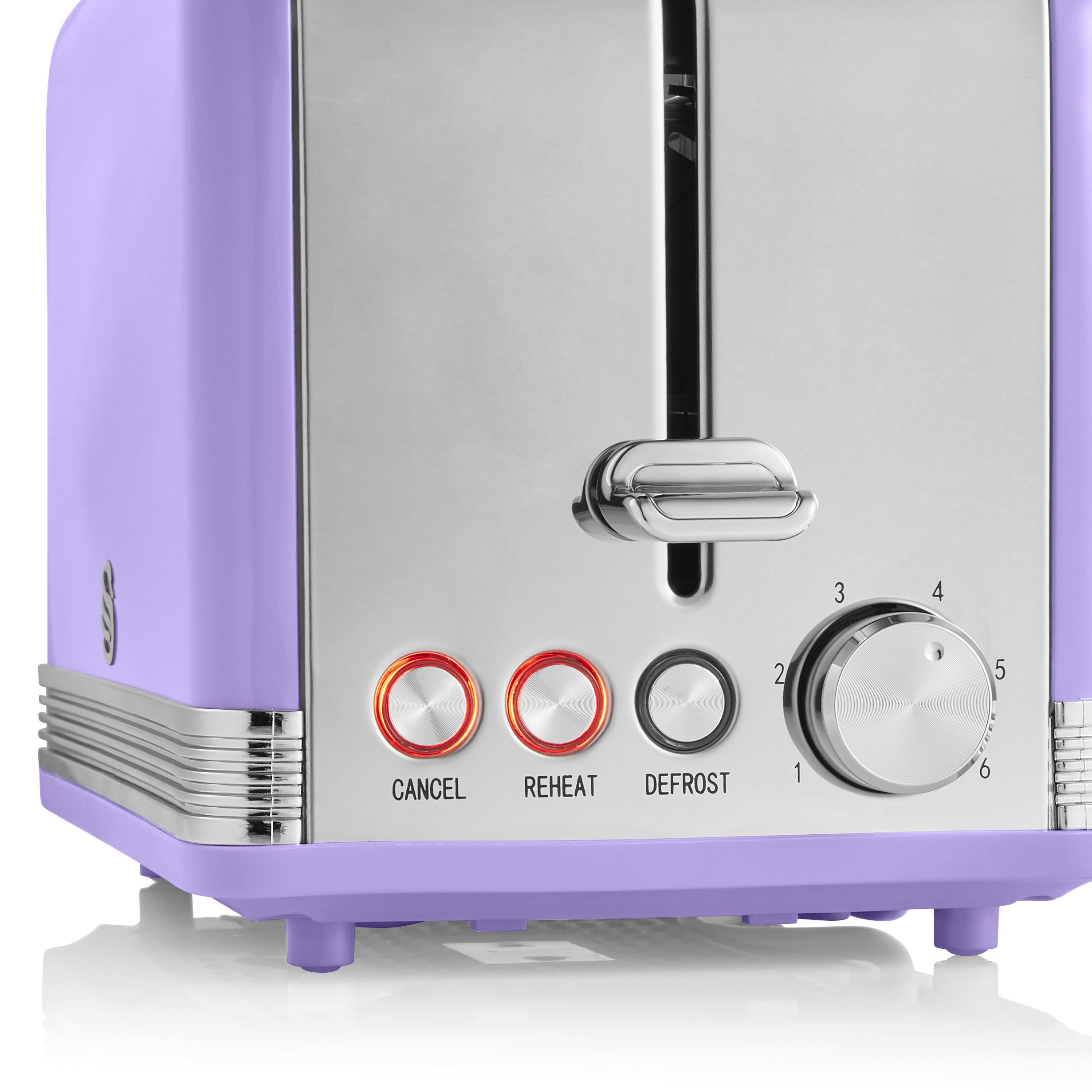 thumbnail 92 - Swan Retro 1.5L Jug Kettle 3KW, 2 Slice Toaster 815W & 20L Digital Microwave Set