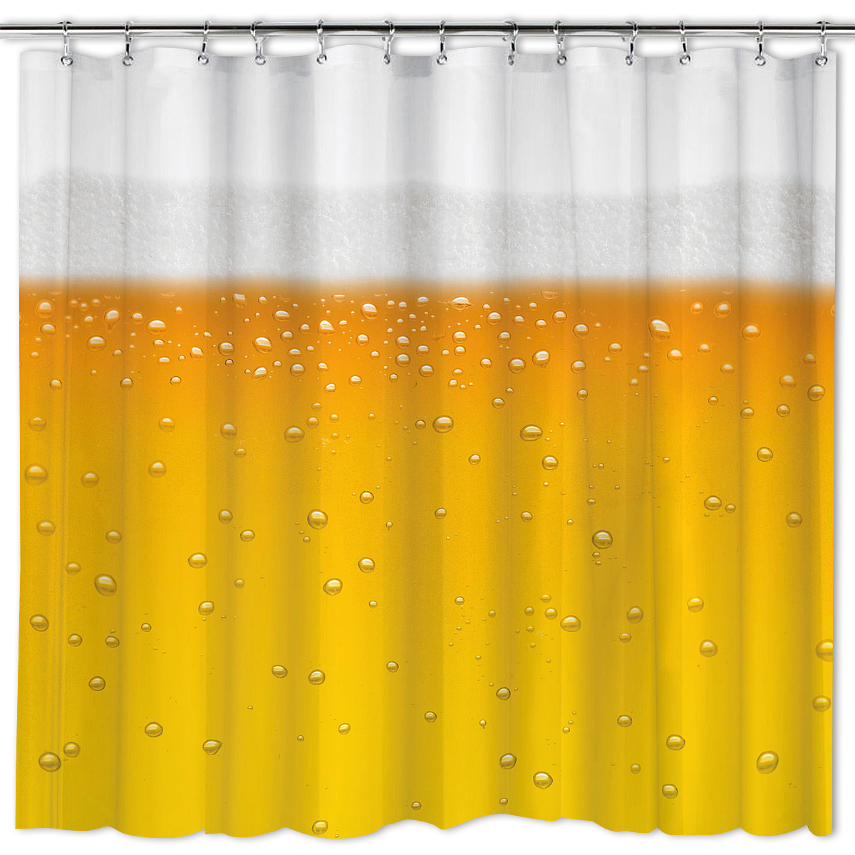 Badezimmer Deko Amazon: Duschvorhang Bier Bierdusche Inkl. Haken
