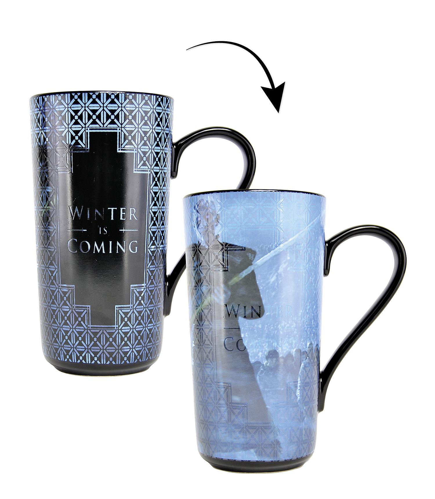 Game of thrones xl thermo latte macchiato becher for Bildmotive wohnzimmer
