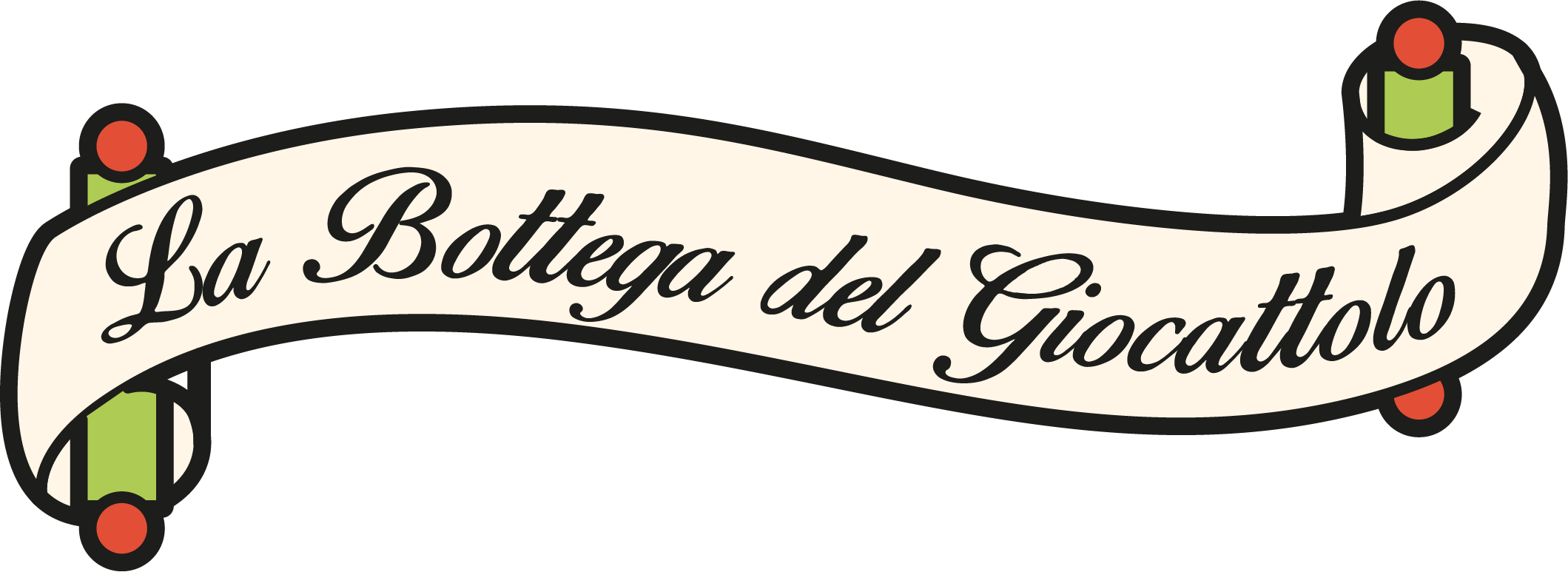 Logo bottega del giocattolo