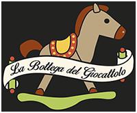 Logo footer bottega del giocattolo