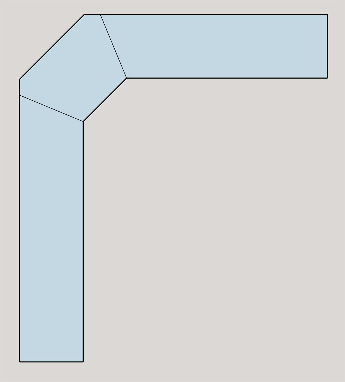 d coupe plan de travail en 3 parties copain des copeaux. Black Bedroom Furniture Sets. Home Design Ideas