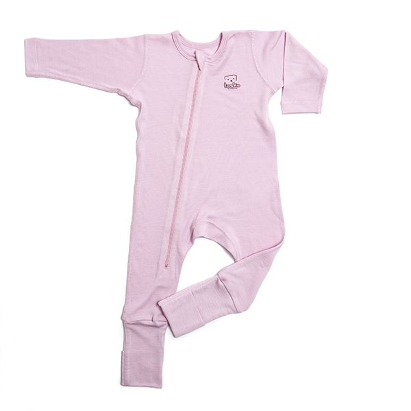 Pyjamas merinoull rosa