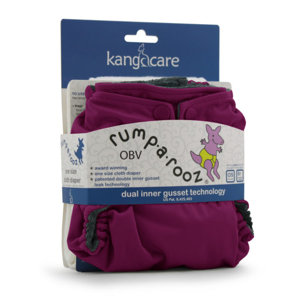 Kanga Care Rumparooz OBV Boysenberry