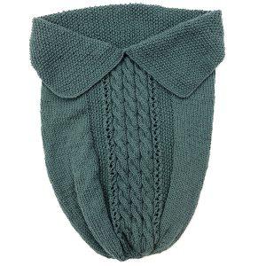 Kosepose flette - grågrønn Grågrønn