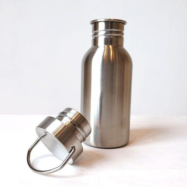 drikkeflaske-blank-staalkork