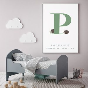 Fødselsplakat P