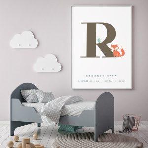 Fødselsplakat R