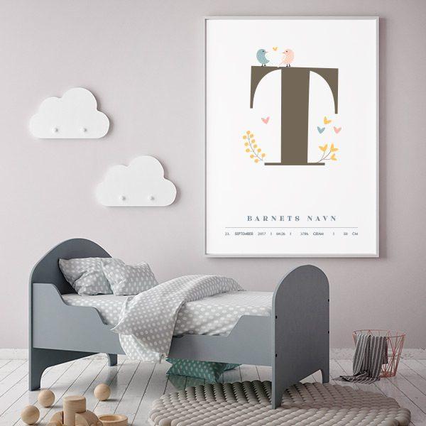 Fødselsplakat T