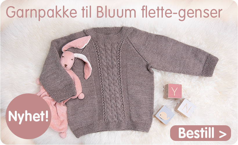97c65ba7 Babystrikk - Bluum