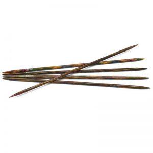 3.0mm 15cm - Symfonie strømpepinner regnbue