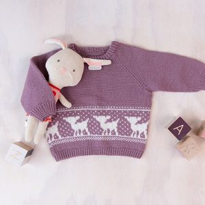 Bluum strikkegenser - Bambi