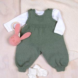Bluum sparkebukse i Pure Eco baby Wool
