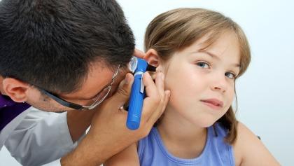 lindre ørebetennelse barn