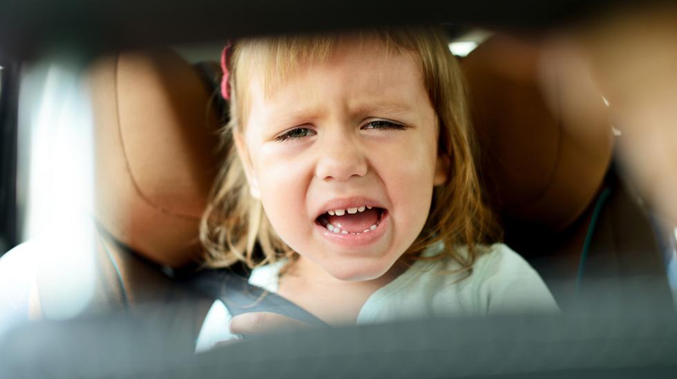 Biltur er populært – i hvert fall med barn som liker det, og som ikke blir bilsyke... Ill.foto: Shutterstock