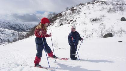 Hva slags skiutstyr trenger barna?