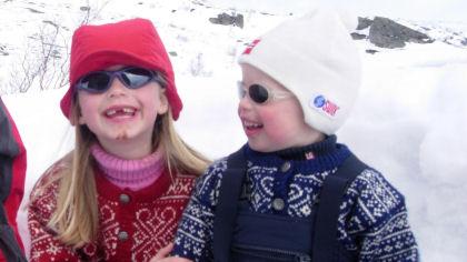 Klær og utstyr for barn på tur