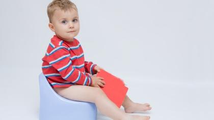 Pottetrening - tegn på at barnet er klar