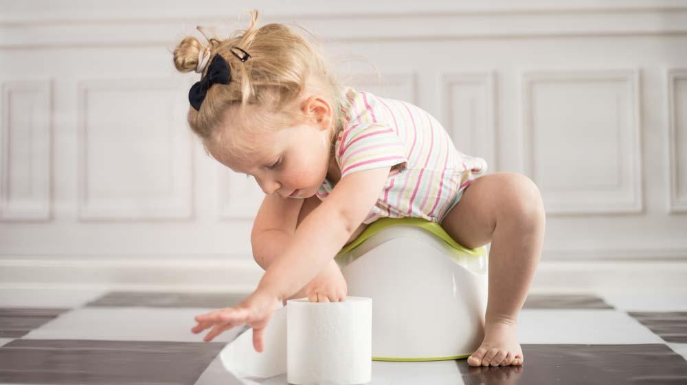 Skal det bli deilig å slippe bleieskift? Illustrasjonsfoto: Shutterstock