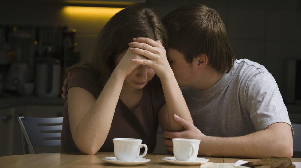 – De fleste vil vel stille opp for partneren i vanskelige faser i livet. Det er noe om å leve opp til løftet om å ta vare på hverandre i gode og onde dager. Det kan være vanskelig, men det er en del av det å være en familie. Ill.foto: Shutterstock