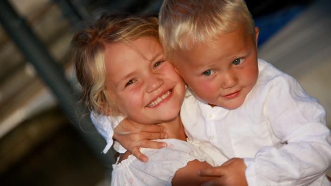 Både Victoria og Alexander har cøliaki. Foto: Privat