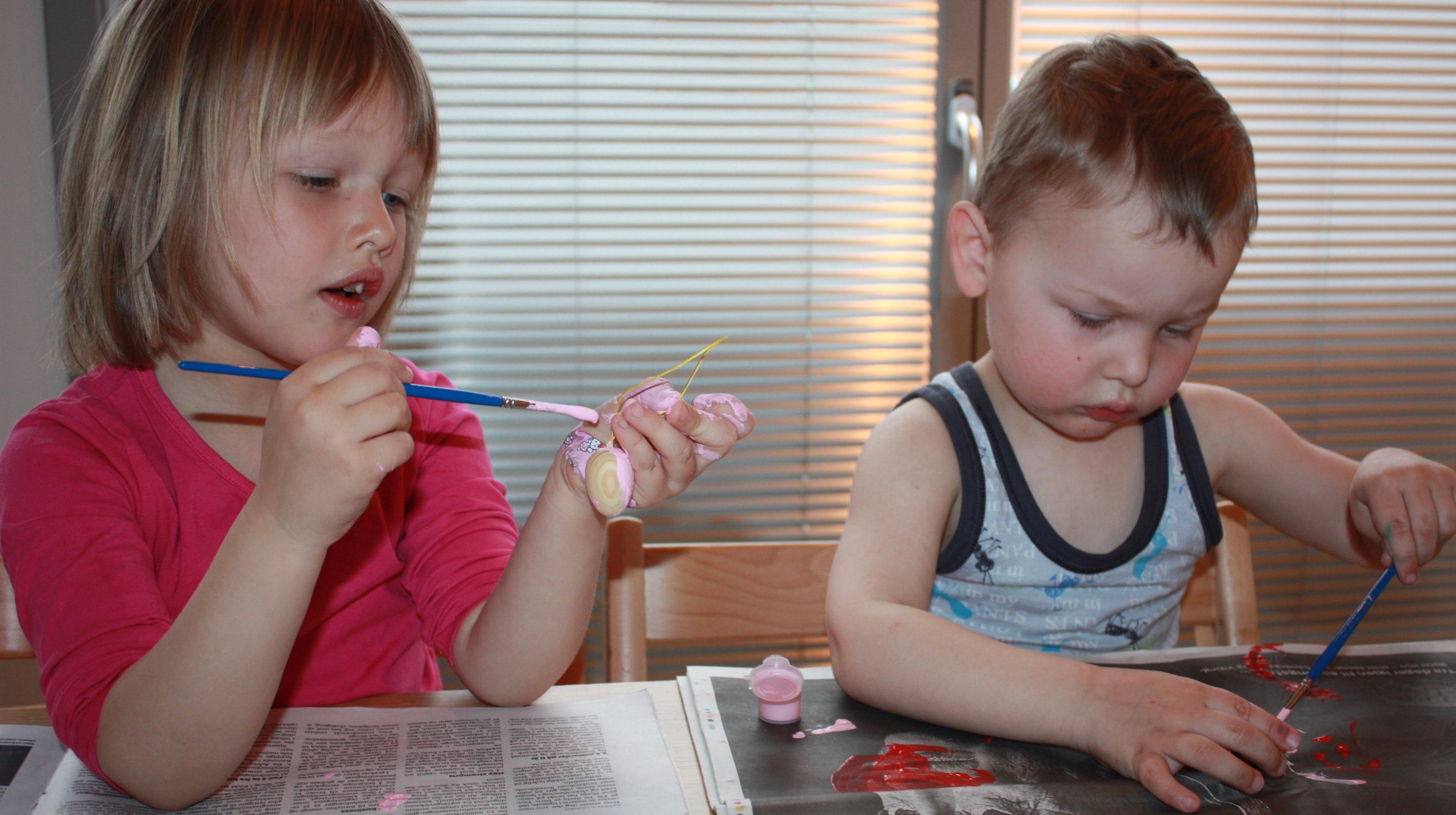 Påskeaktiviteter barn