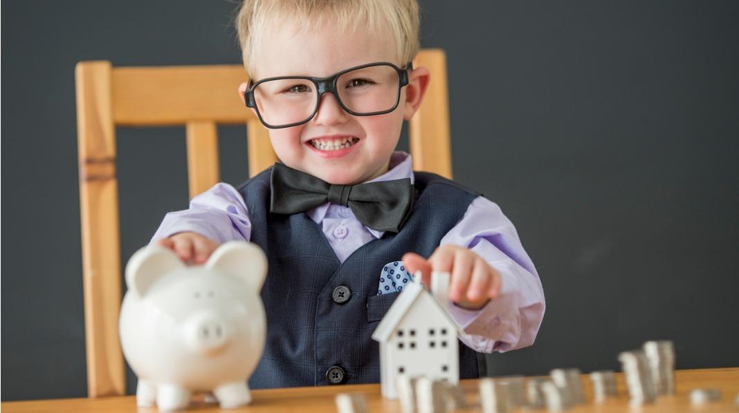 Hvordan kan vi best mulig spare til barna våre? Illustrasjonsfoto: iStock