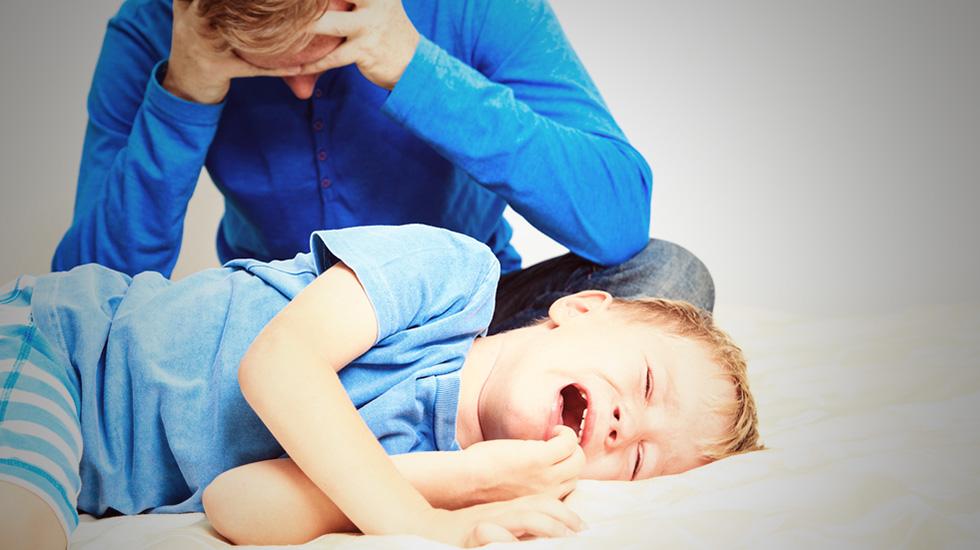 Trass bringer fram mye følelser - både hos små og store. Illustrasjonsfoto: Shutterstock