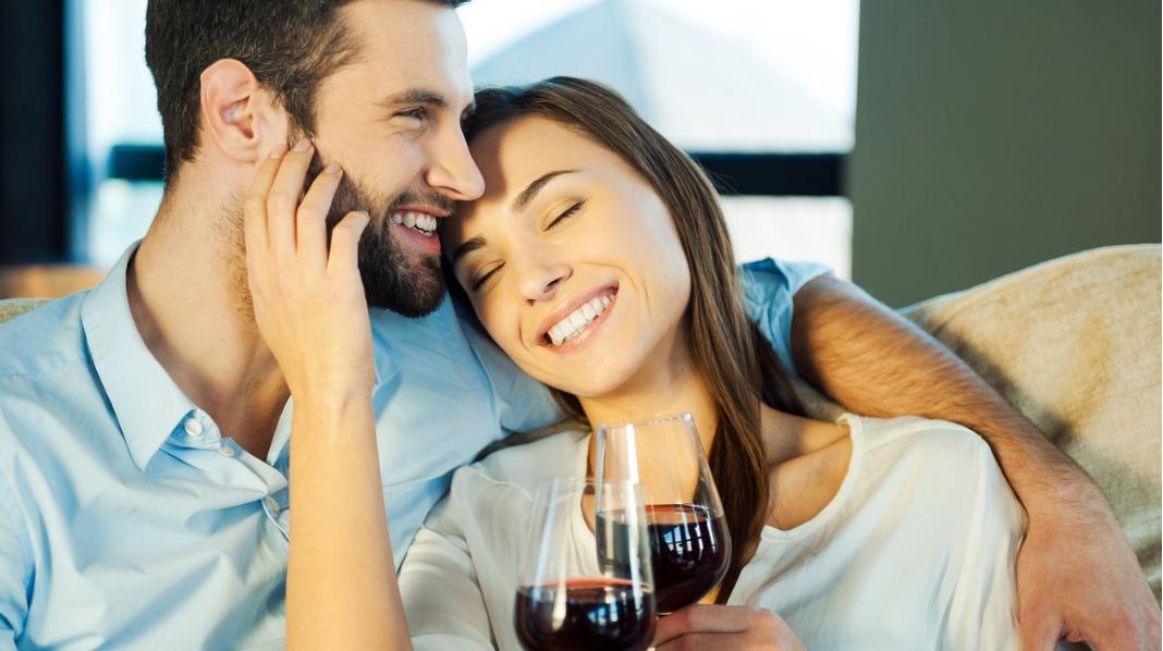 God drikke med sin kjære