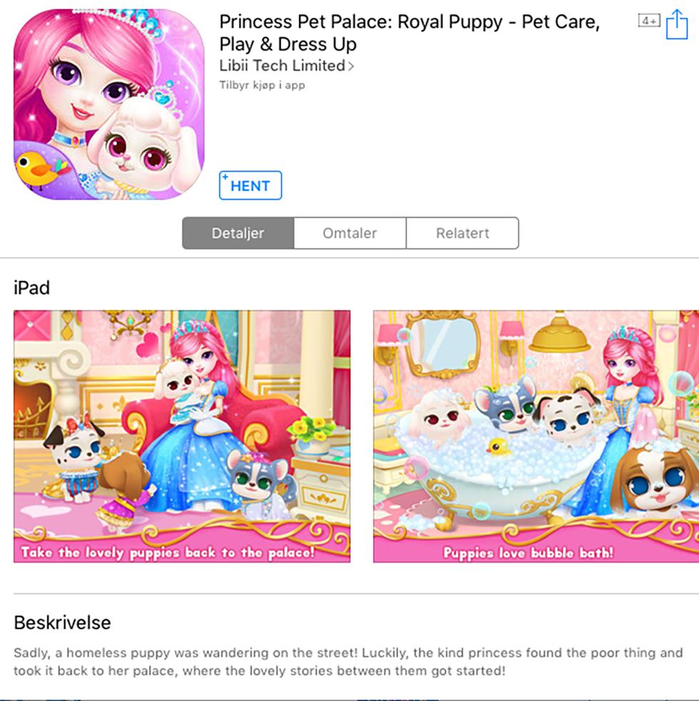 Beste gratis spill barn ipad