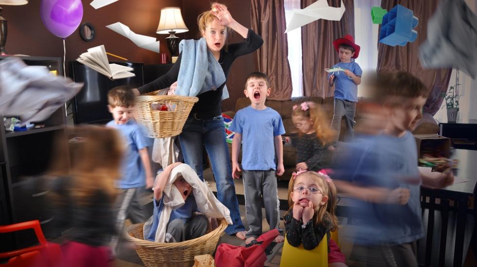 Småstresset småbarnsmamma? Alle illustrasjonsfoto: Shutterstock