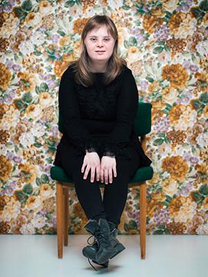 """Halldóra, fotografert av Sigga Ella i serien """"Først og fremst""""."""