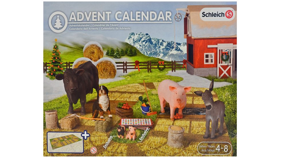 Dyr på bondegården fra Schleich. Foto: Janet Molde Hollund