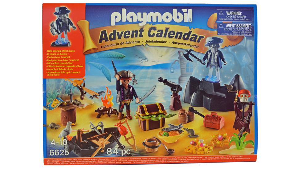 Liker barnet ditt sjørøvere? Da kan denne kalenderen slå godt an. Foto: Janet Molde Hollund