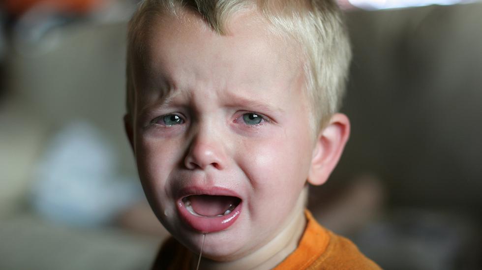 Handler det om at barnet ikke vil være i barnehagen, eller at det ikke vil at mamma skal gå? Illustrasjonsfoto: iStock