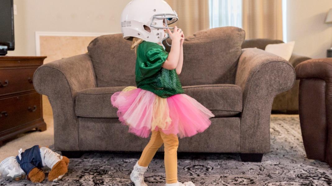 Får barnet kle seg selv?
